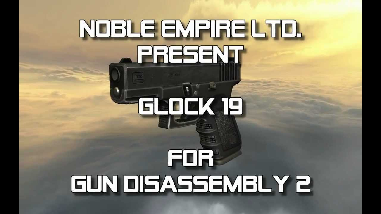 Glock 19 (full disassembly and operation)