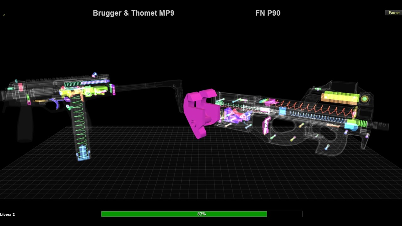 Daily Puzzle: Brugger & Thomet MP9 vs FN P90