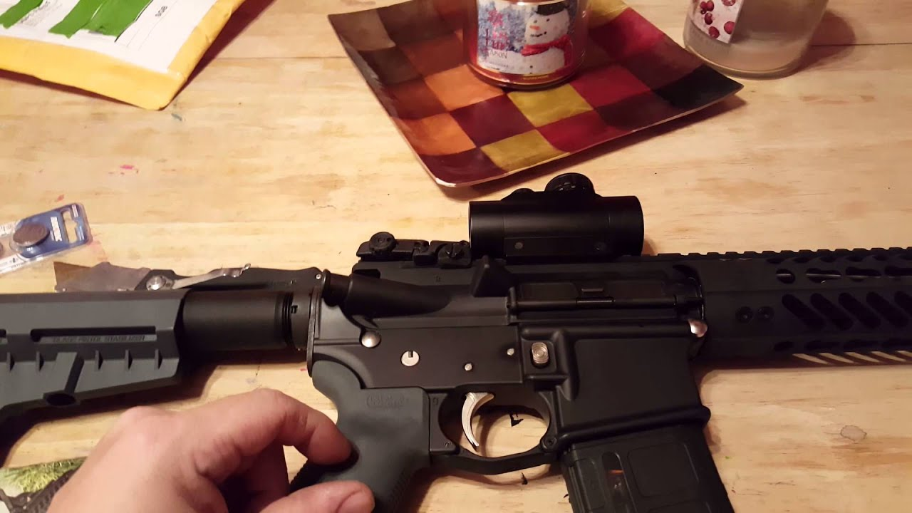 A look at my AR Pistol build and a shout out to Shockwave Technologies