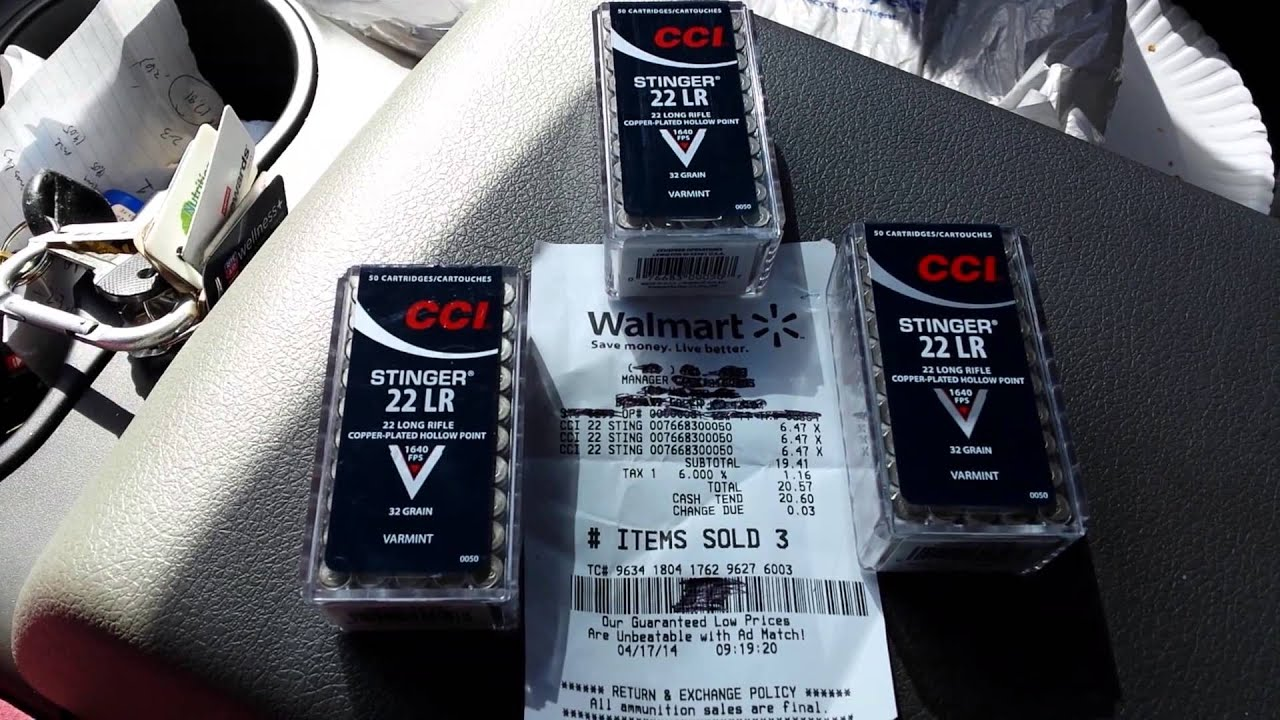 .22LR AMMO SCORE TOLD THEY WERE GONE!!