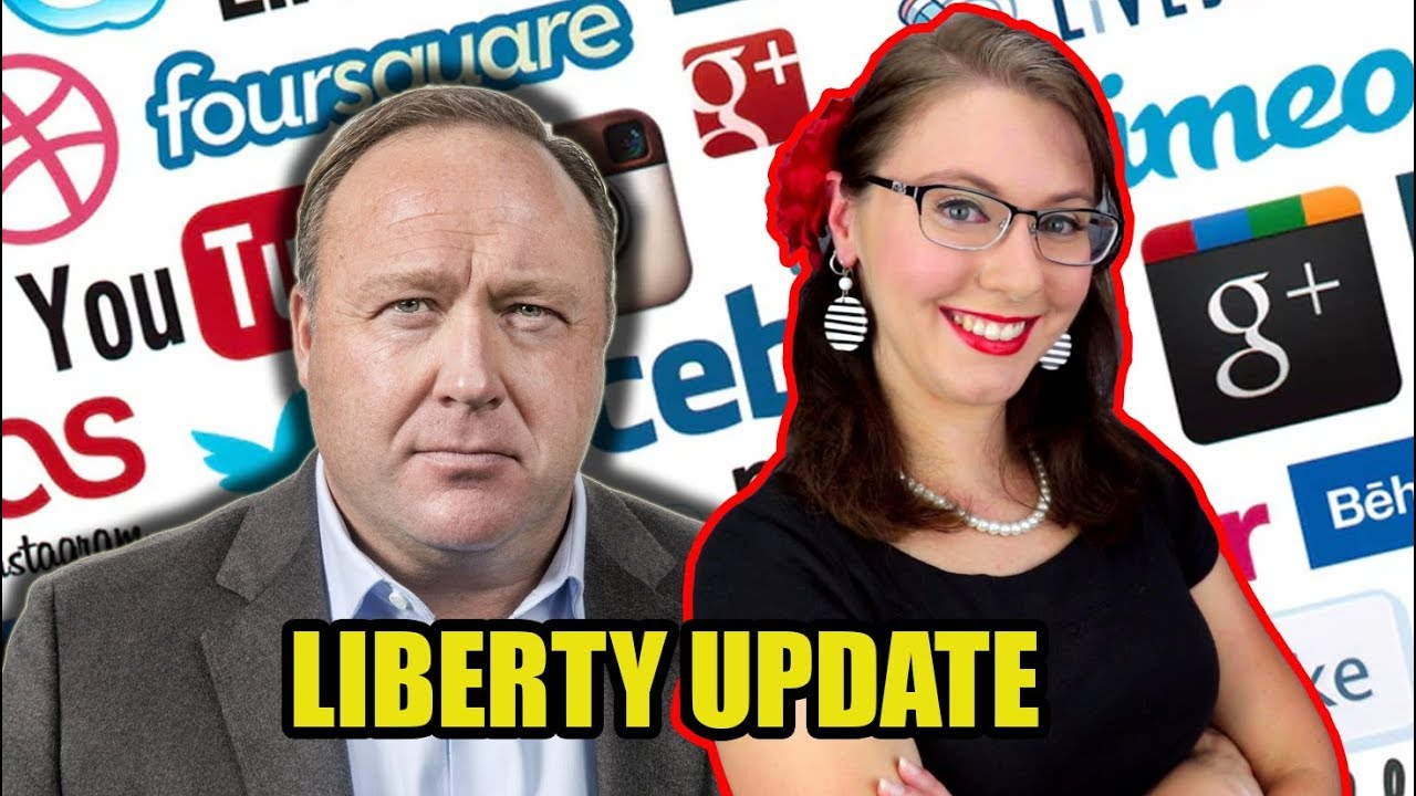 Is the Alex Jones Ban Just the Beginning? | Liberty Update