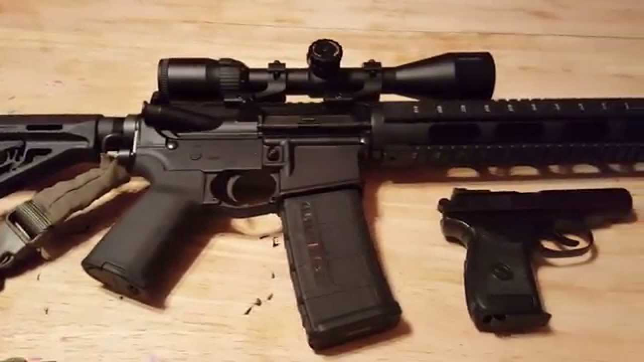Support VIdeo for Ebomey...if you do NOT have an AR15...check this out!