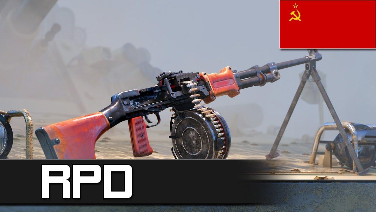 How does RPD machine gun work?