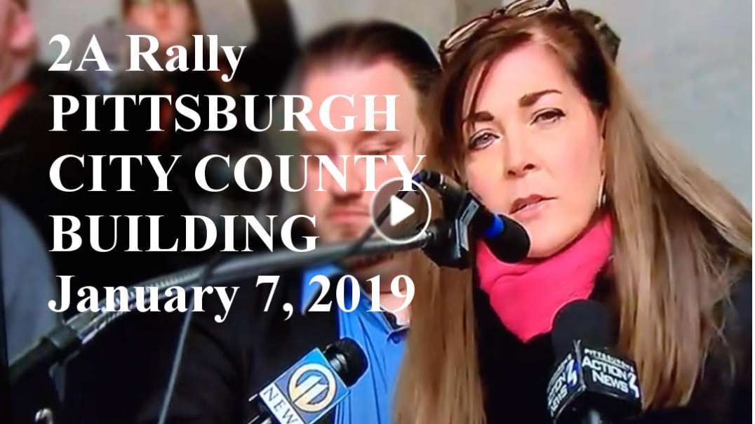 Pittsburgh Second Amendment Rally - January 7, 2019