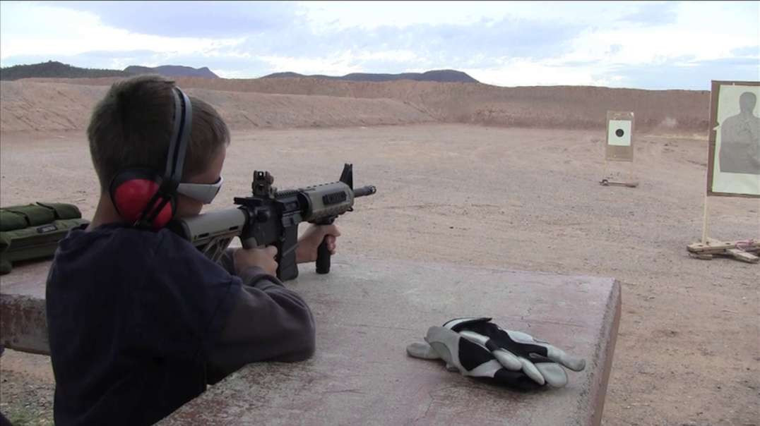 Eaglewatcher shooting our AR-15.mov