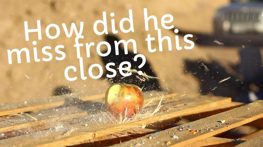We started strong but failed - Is one apple bulletproof?