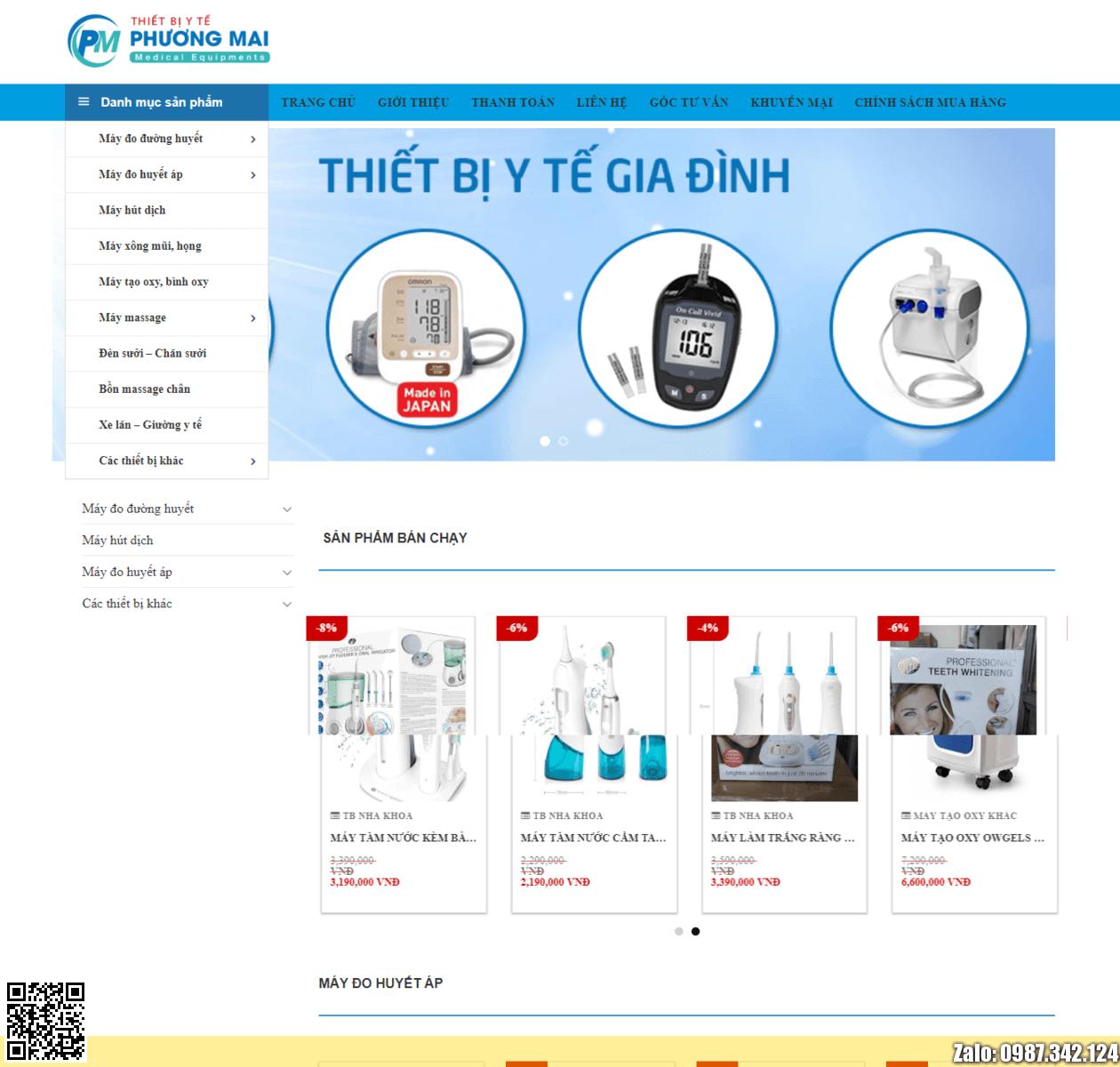 Web bán thiết bị Y Tế thumbnail