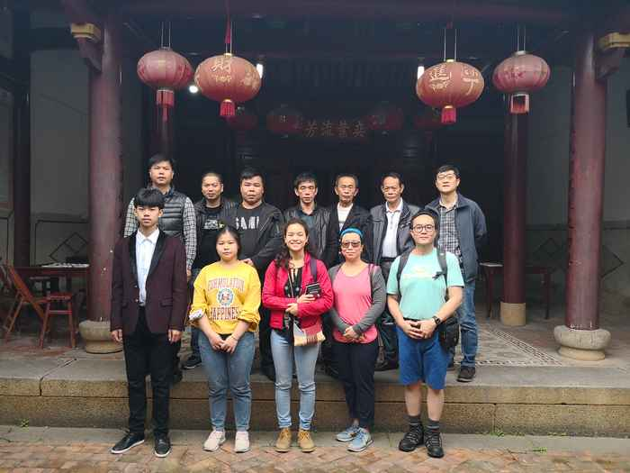 Relatives visit ancestral home in Quanzhou