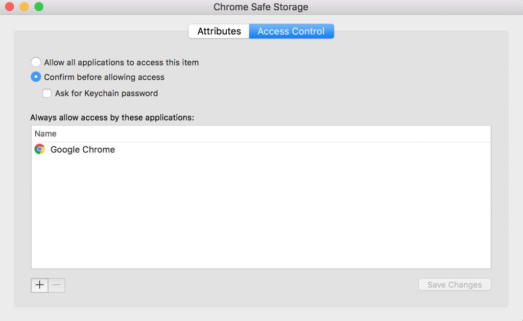 Decrypting Google Chrome Passwords on macOS / OS X