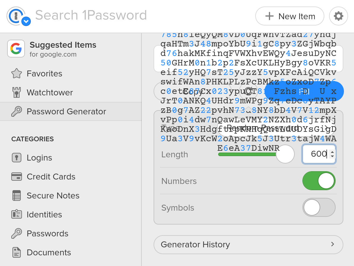 Weekly Update #1: Security and X 1 13 - 1Password