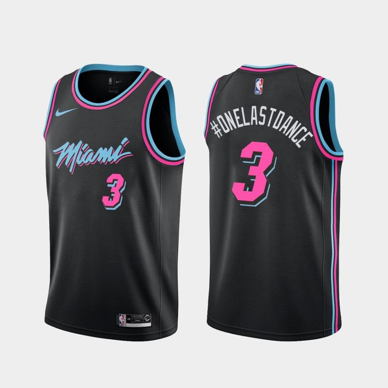 Men S Glen Rice Miami Heat 41 Black Vice Night Jersey Jeryofanz
