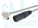 3XM-8B1MPRT-XX | 6 ft., Piso System Adapter Cable, Head End, Breaks Out RS422 Receive T