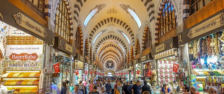 Egyptian Market (Spice Bazaar) and New Mosque