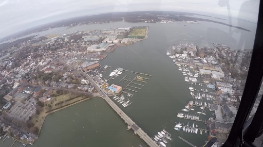 Annapolis from the air